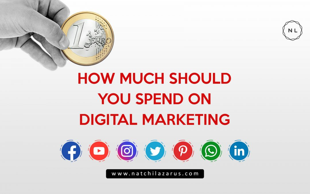 How Much Should You Spend for Digital and Online Marketing? A research-based analysis