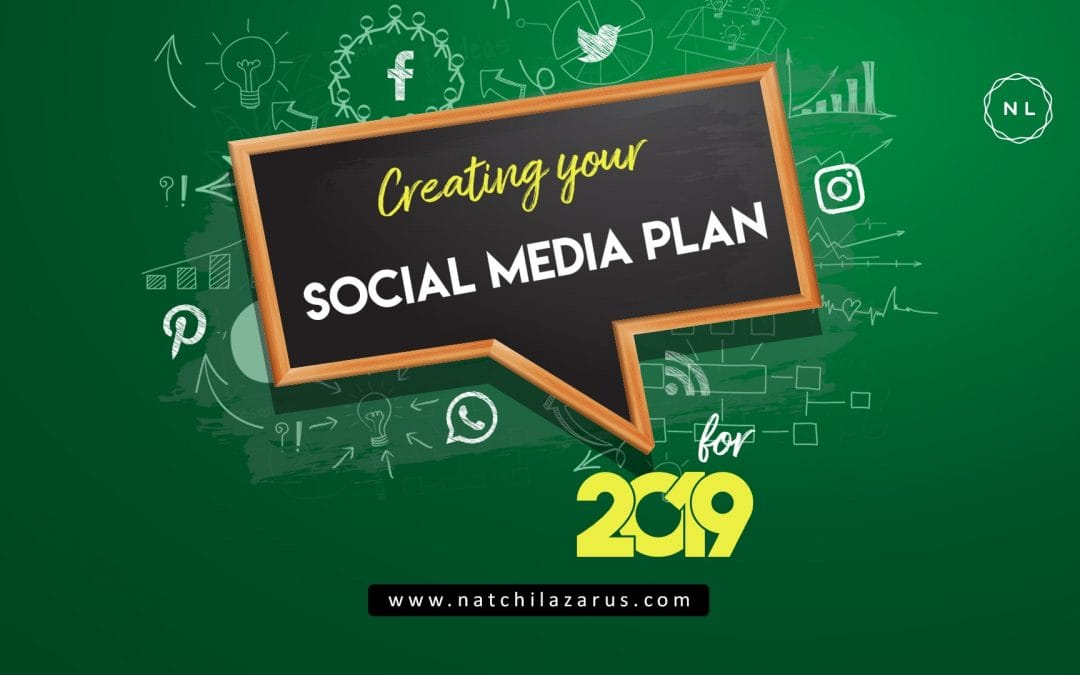 Social Media Planning Template for 2019: With a 15-Point Checklist
