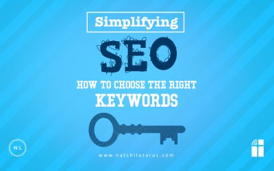 Simplifying SEO: Choosing the Right Keywords for Optimisation