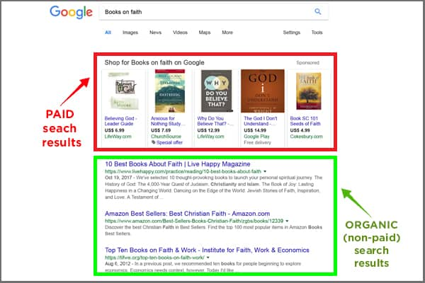 SEO Screenshot SERP
