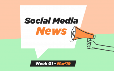 Social Media News – Week 1 – Mar 2019: For Nonprofits, Church & Ministry