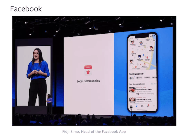F8 2019 News on Facebook Groups