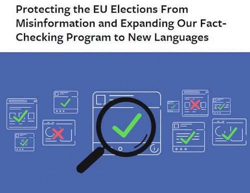 Social media networks like to stop misinformation from spreading during elections