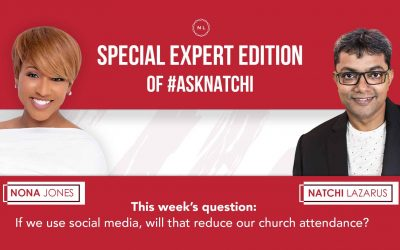 If we use social media, will that reduce our church attendance? #AskNatchi