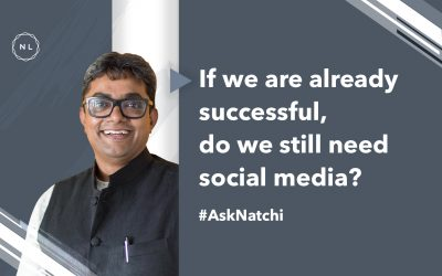 If we are successful, do we still need social media? #AskNatchi