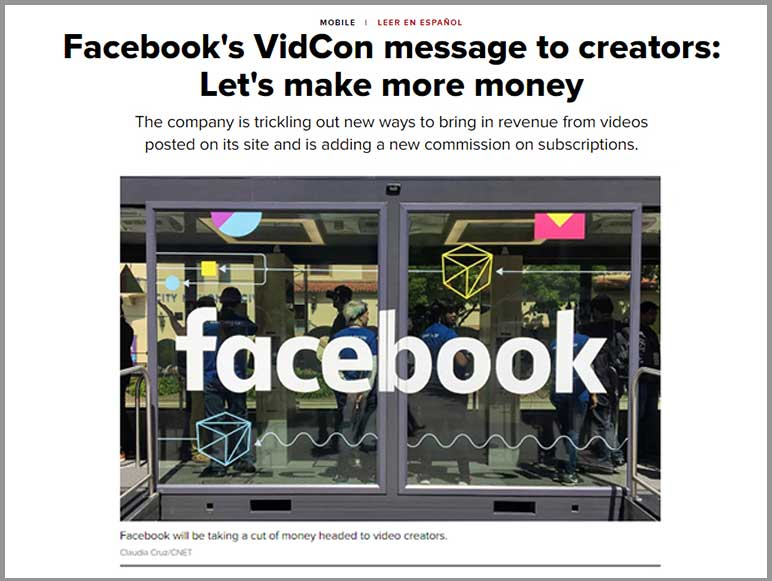 Facebook News - Like Twitch Bits, Facebook will release Stars a new way to pay video creators