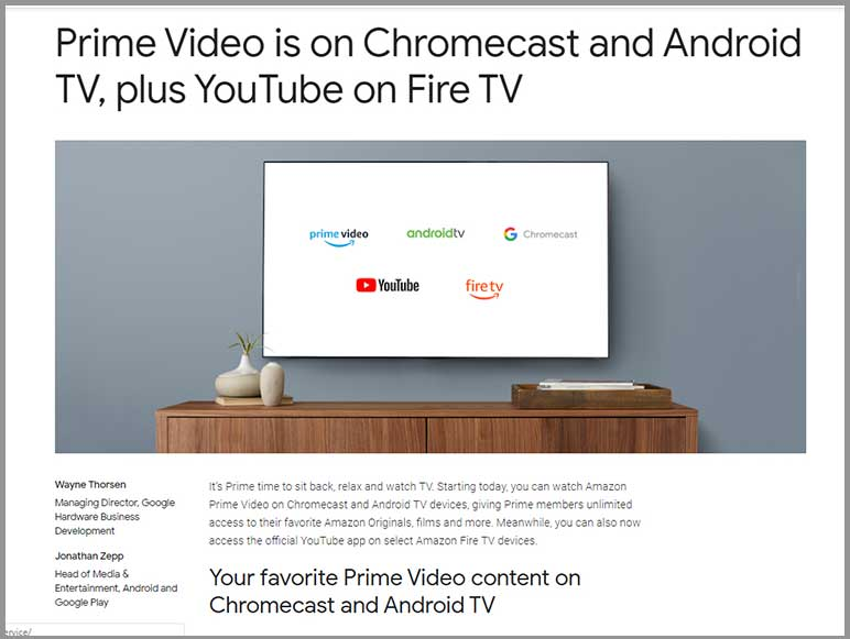 YouTube news - App will be on Amazon Fire TV Stick
