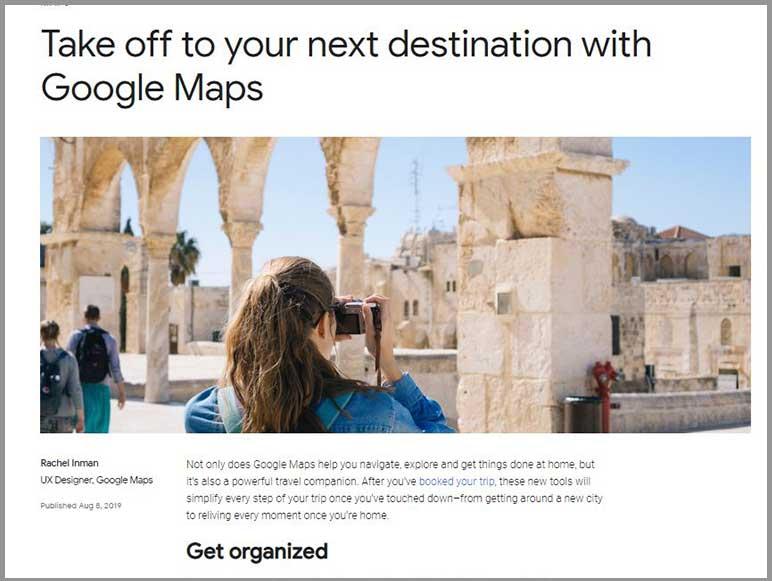 Augmented Reality (AR) comes to Google Maps
