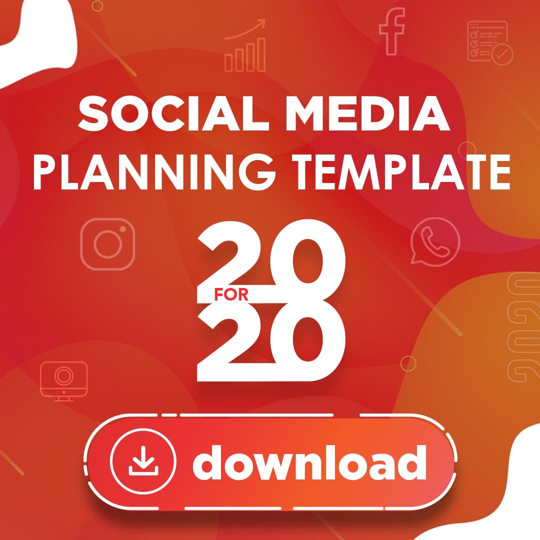 Social Media Planning Template 2020