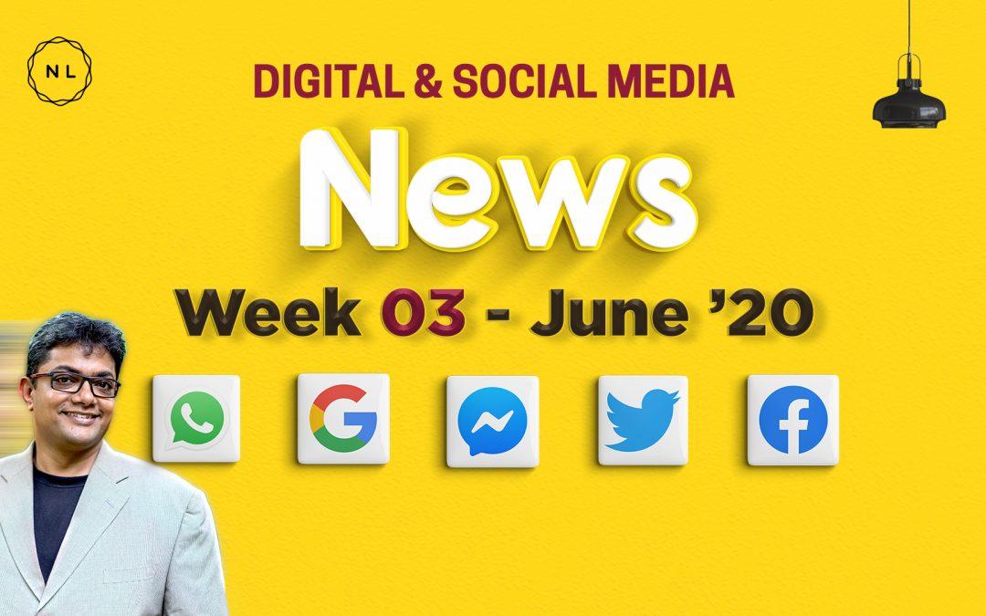 [Week 3, June 20] Digital & Social Media News for Nonprofits & Churches