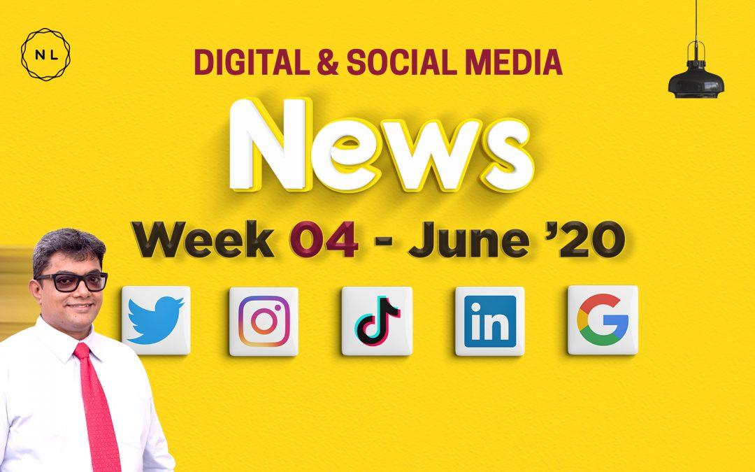 [Week 4, June 20] Digital & Social Media News for Nonprofits & Churches