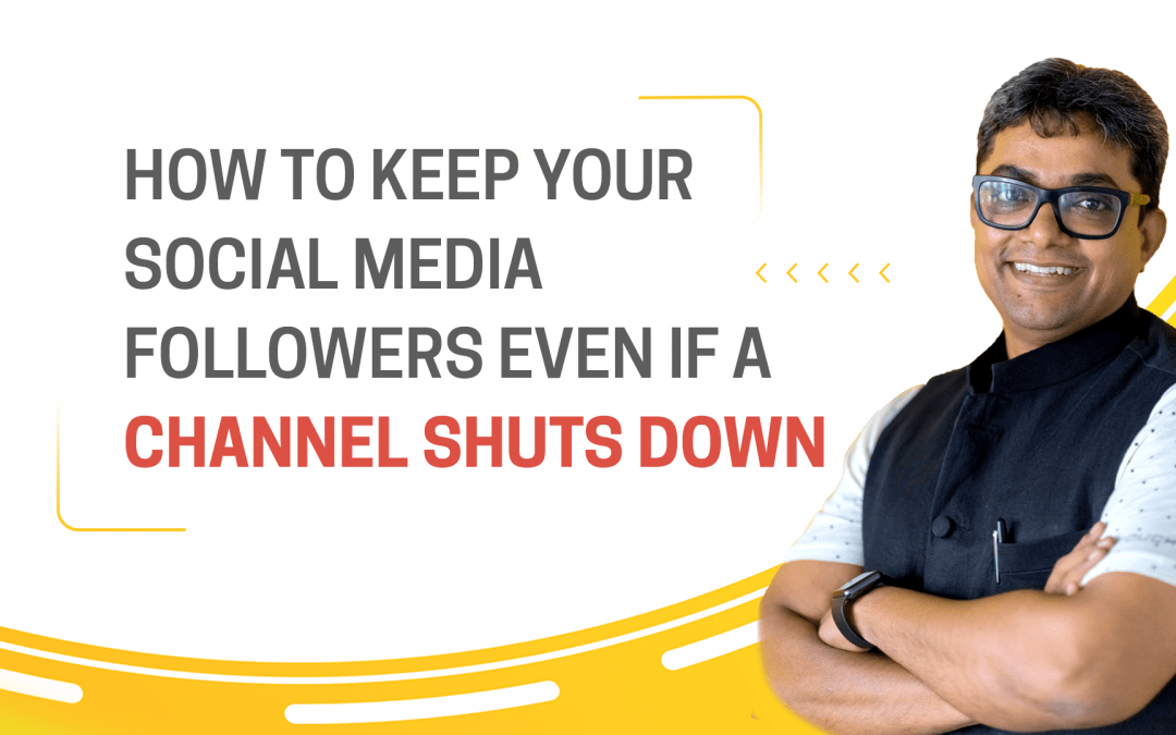 [Question] How to keep your social media followers even if a channel shuts down