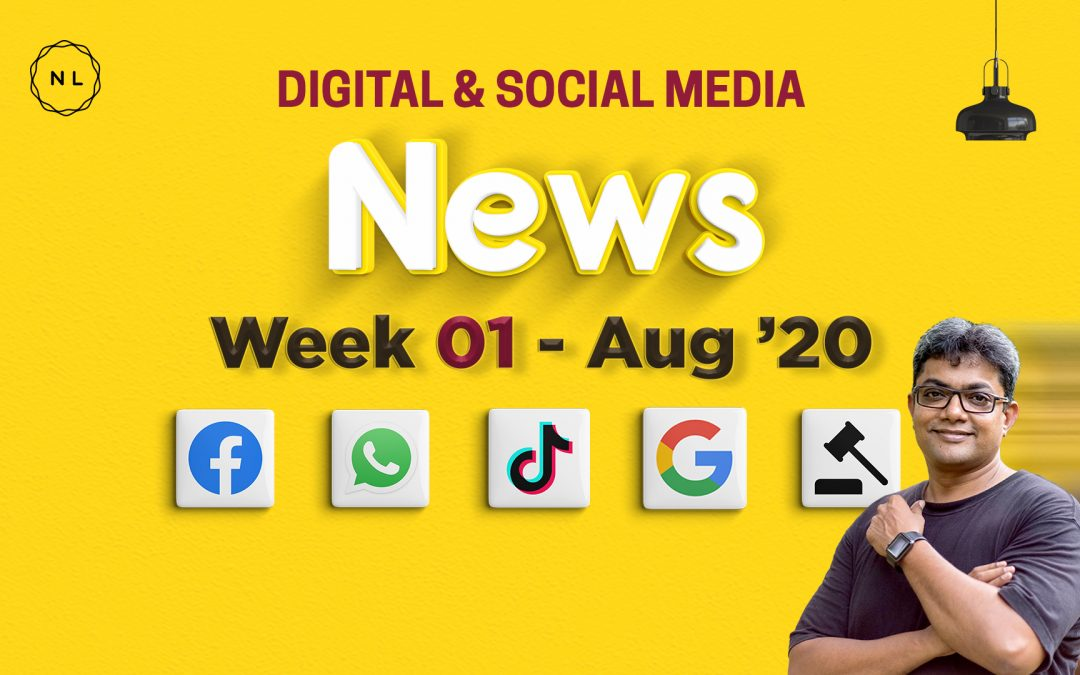 [Week 1, August 20] Digital & Social Media News for Nonprofits & Churches