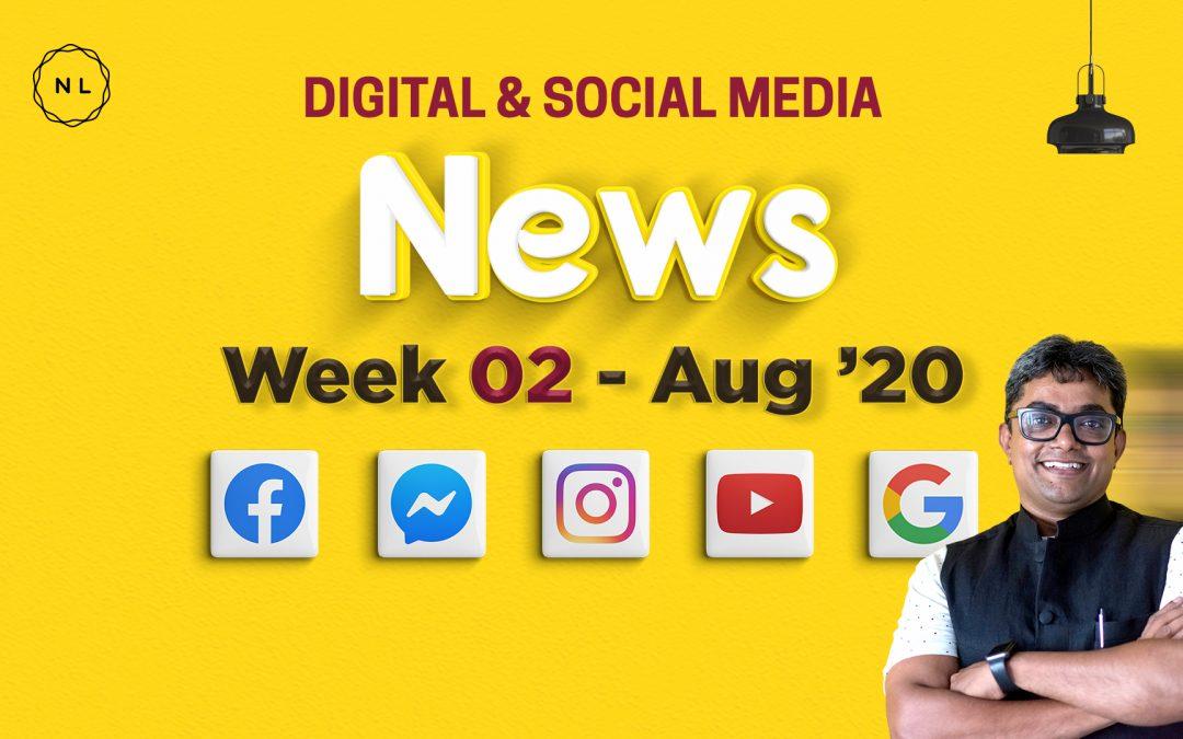 [Week 2, August 20] Digital & Social Media News for Nonprofits & Churches