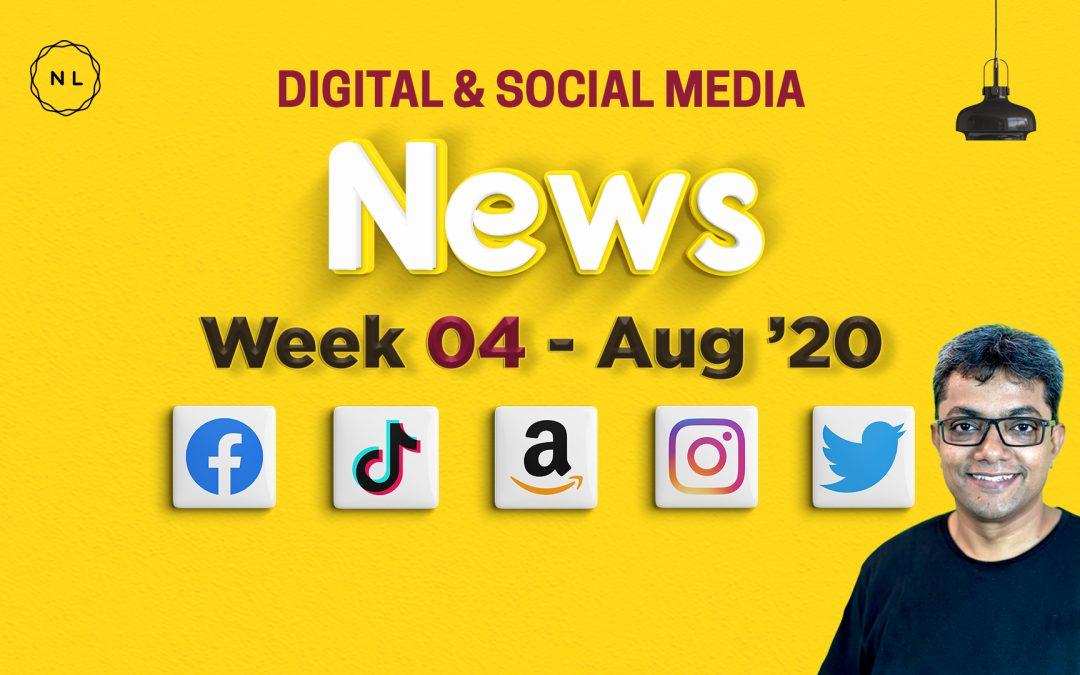 [Week 4, August 20] Digital & Social Media News for Nonprofits & Churches