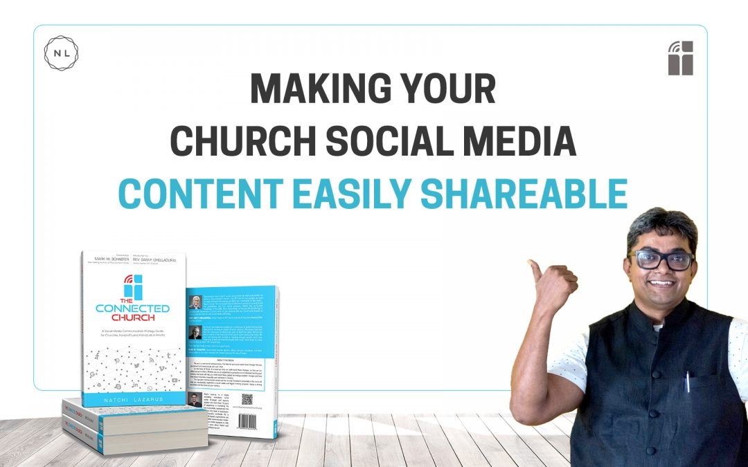 How to make it easy for people to share your church content on social media