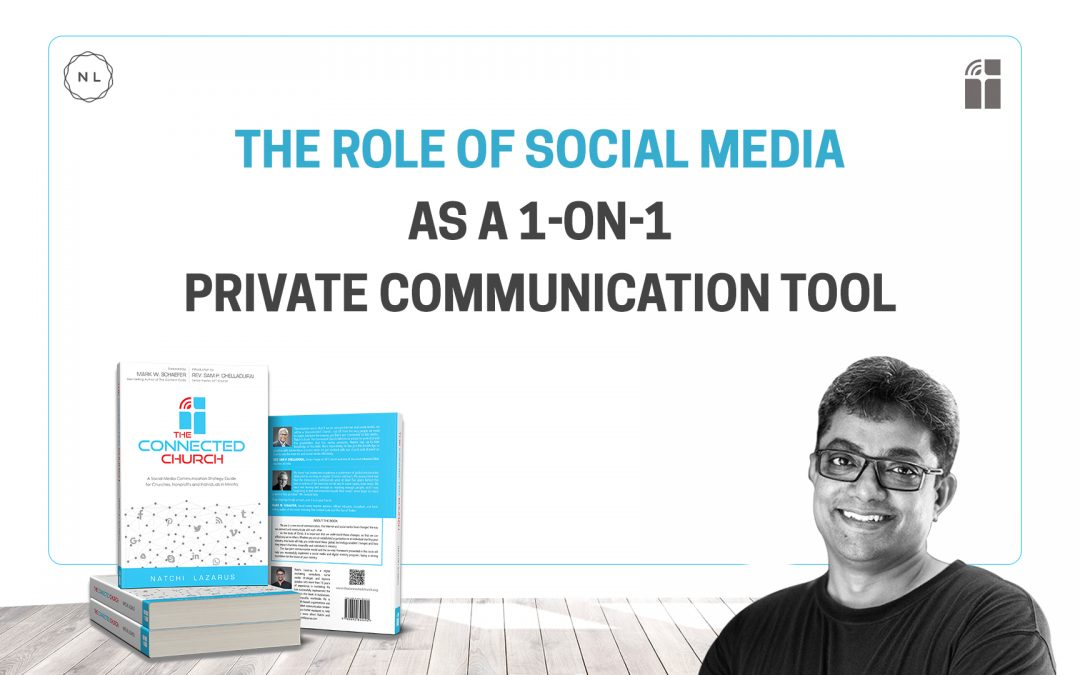 Using social media for private 1-on-1 communication with your audience