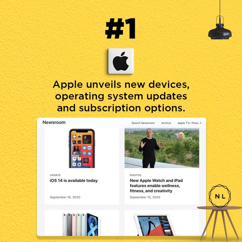 Apple unveils new devices, operating system updates and subscription options.