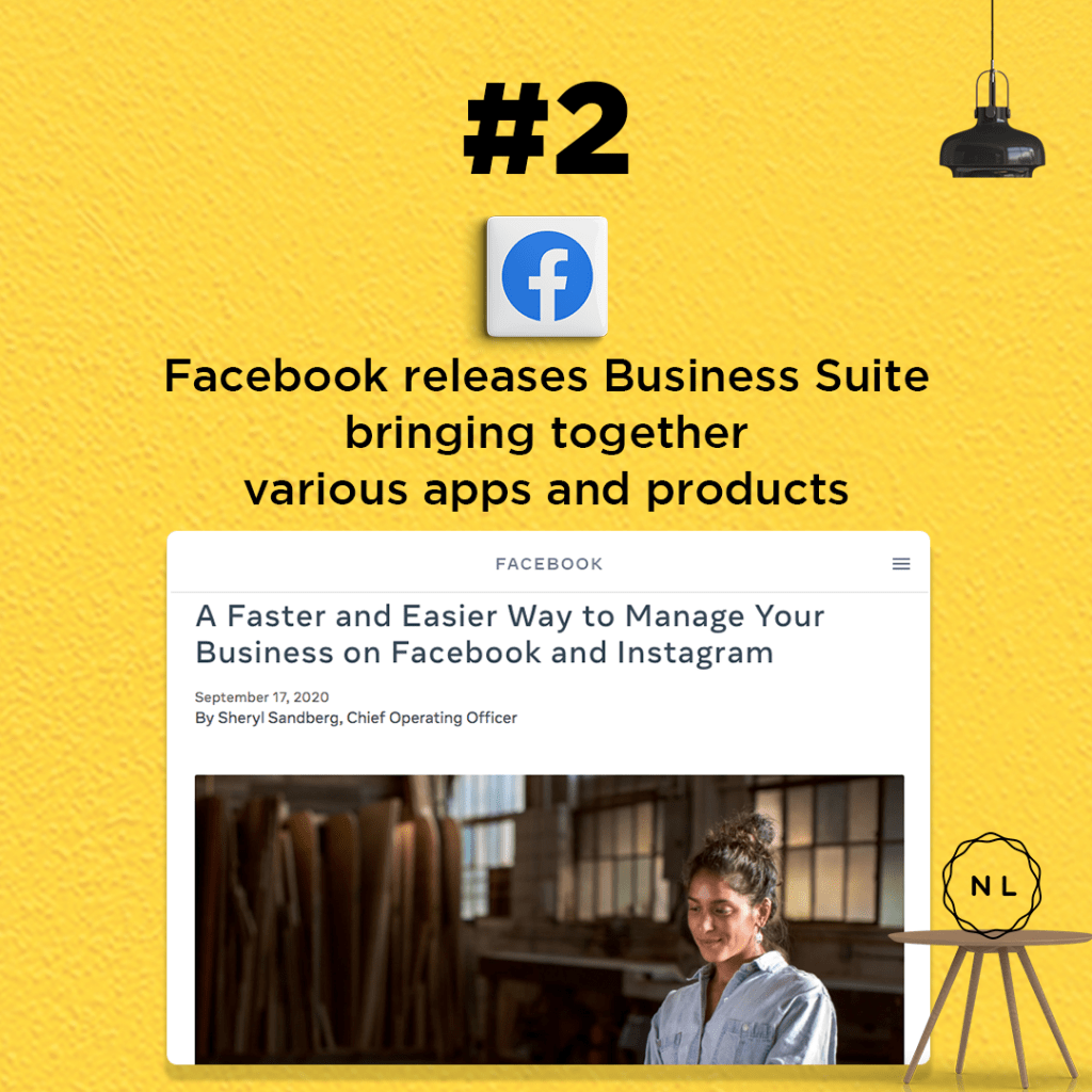 Facebook launches new Business Suite