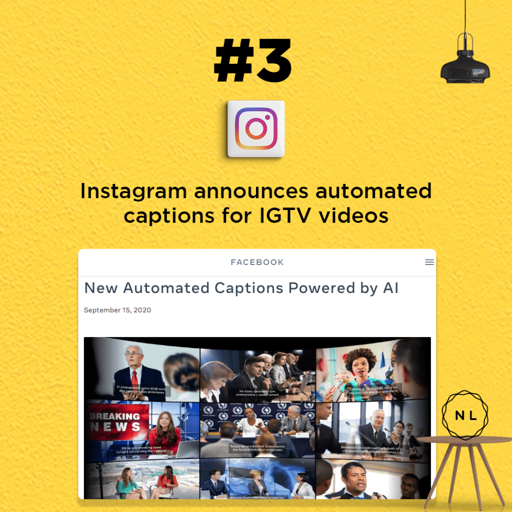 IGTV Videos get automated captions