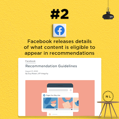 Facebook releases details of what content is eligible to appear in recommendations