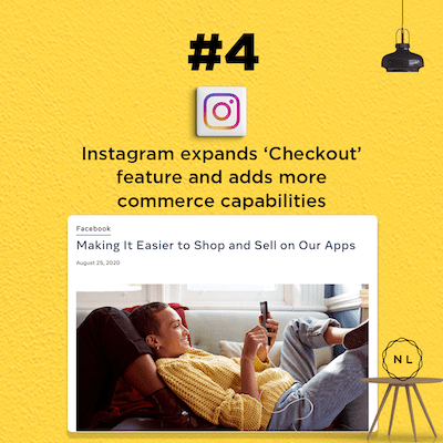 Instagram expands the 'Checkout' feature and adds commerce capabilities