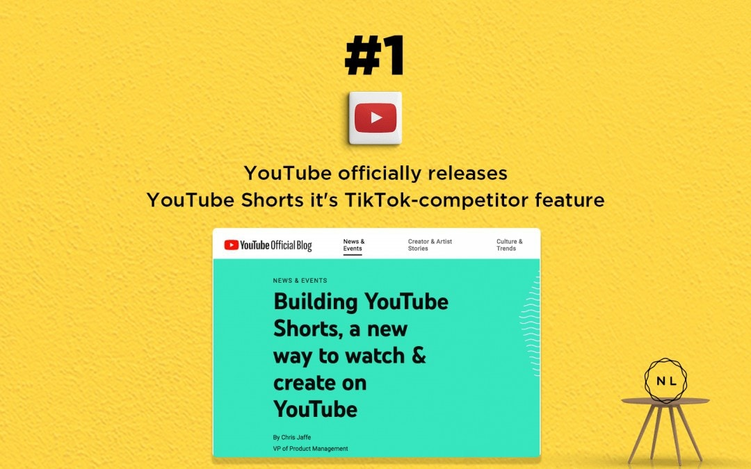 News: YouTube officially releases YouTube Shorts it's TikTok-competitor feature