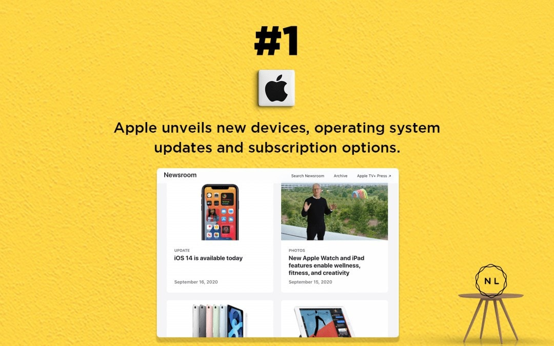 Digital Media News for the Online Church: Apple releases new devices, OS & subscriptions.