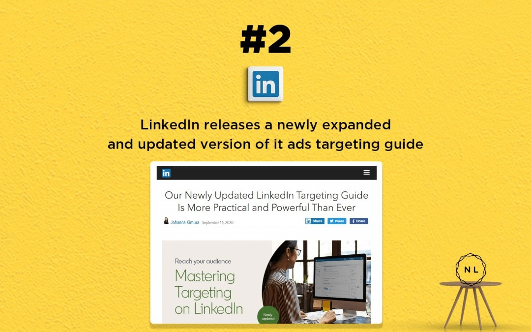 News: LinkedIn releases a newly expanded and updated version of it ads targeting guide
