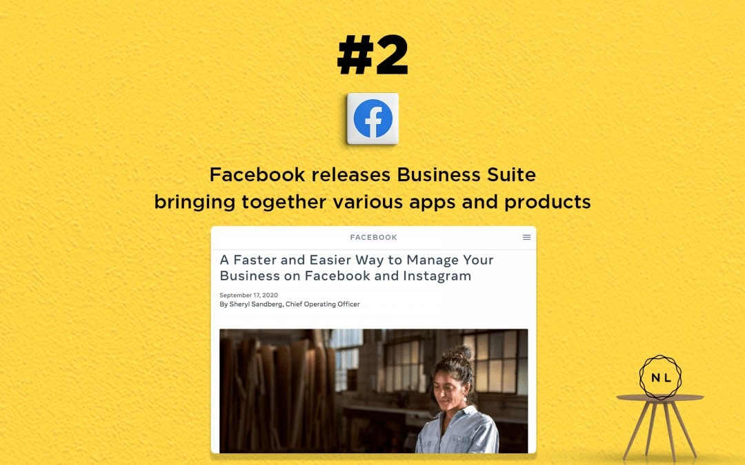 Digital Media News for the Online Church: Facebook launches new Business Suite