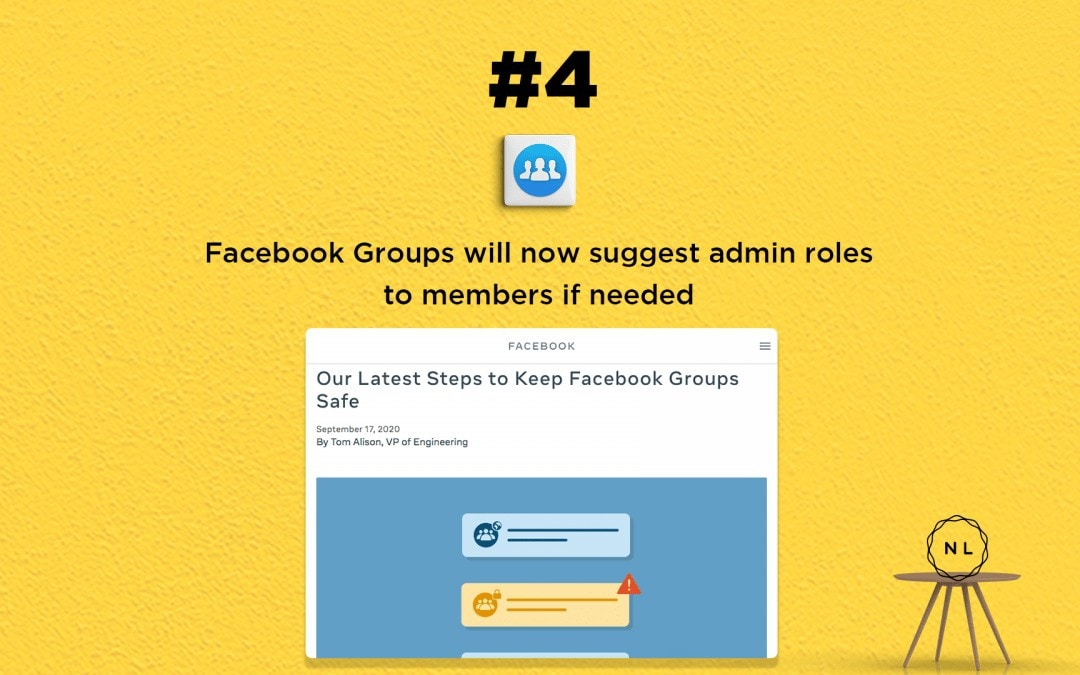 Digital Media News for the Online Church: Facebook Groups get new safety measures