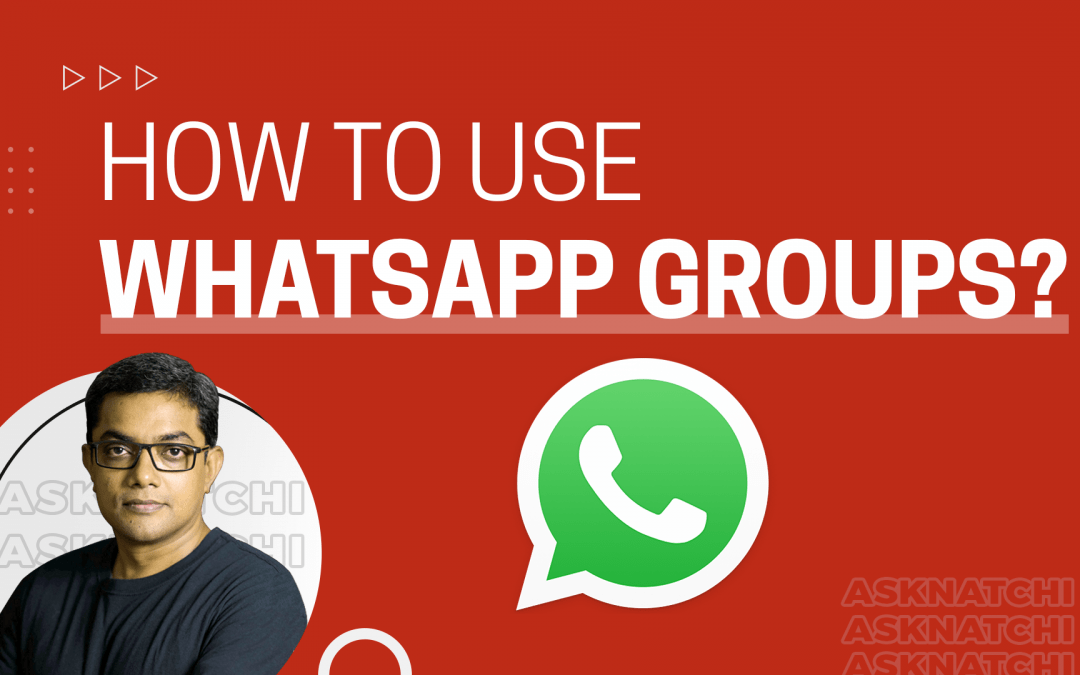 [Question] How to Use WhatsApp Groups for your Church: A Beginner's Guide
