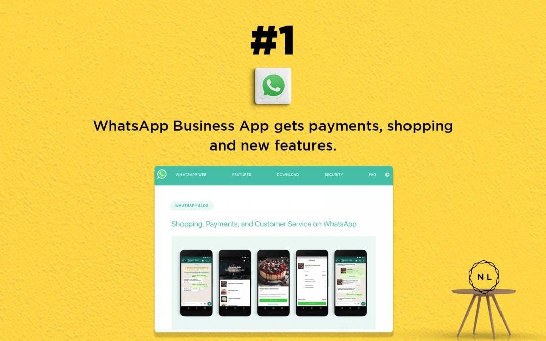 Church Online News:  WhatsApp Business gets payment option