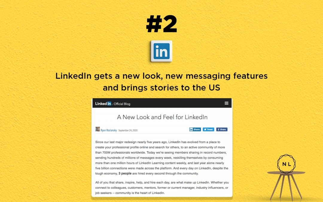 Church Online News: LinkedIn Stories released in the US & Canada