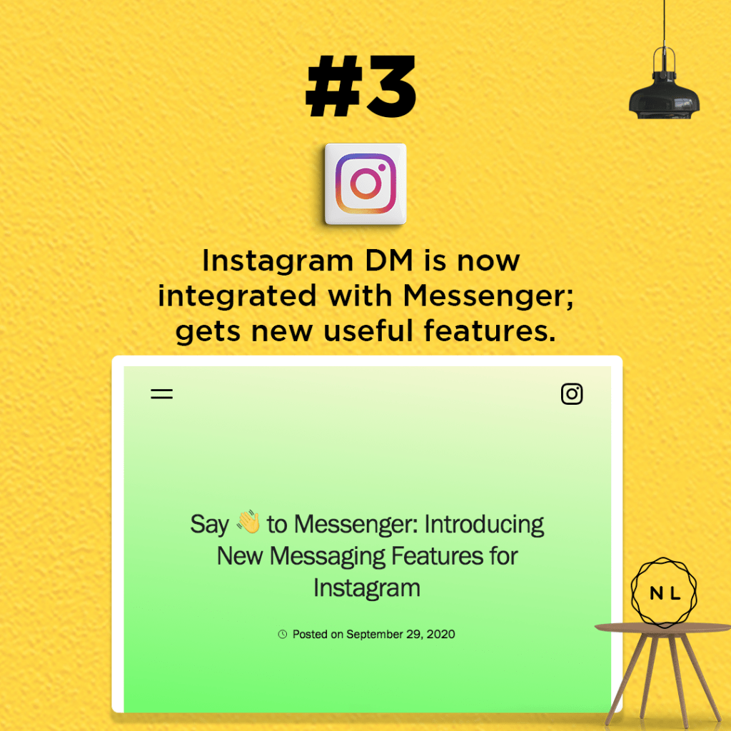 Instagram DM is now integrated with Messenger