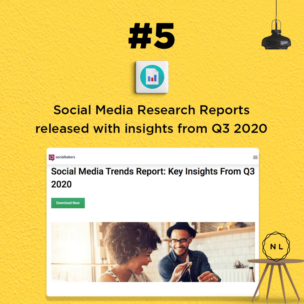 Social Media Research Reports released with insights from Q3 2020