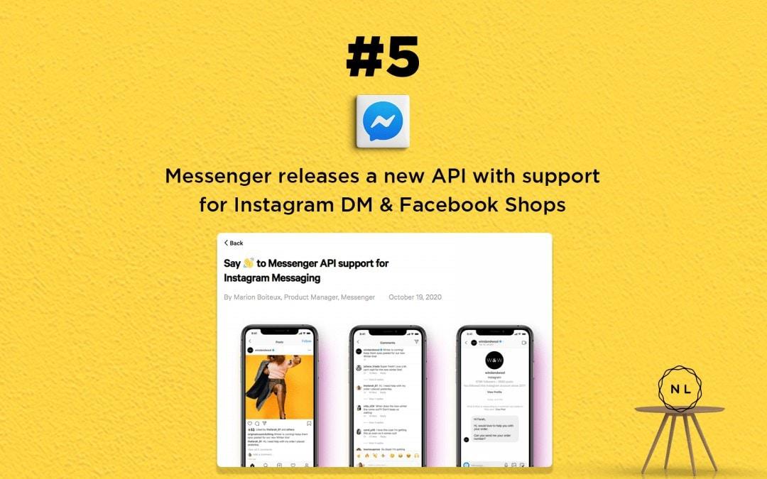 Church Online News: Messenger releases a new API