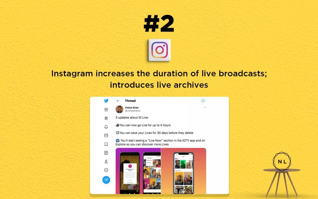 Church Online News: Instagram now lets you go live for 4 hours