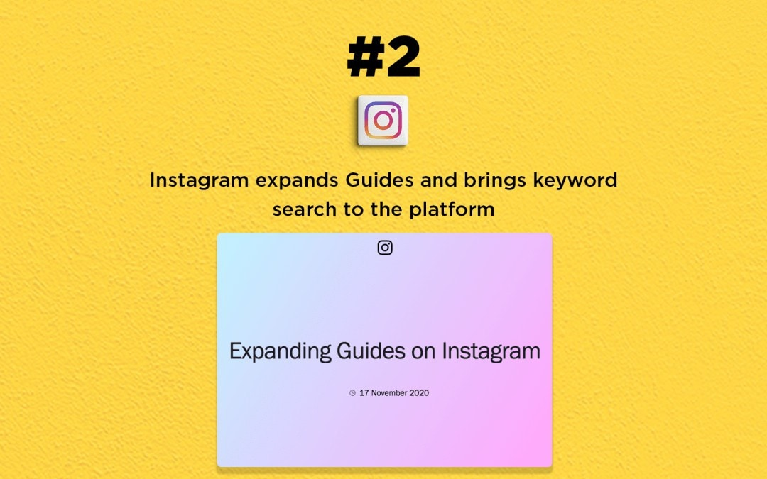 Instagram expands Guides & adds keyword search: The Connected Church News