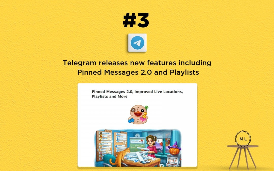 Church Online News: Telegram gets new features including playlists