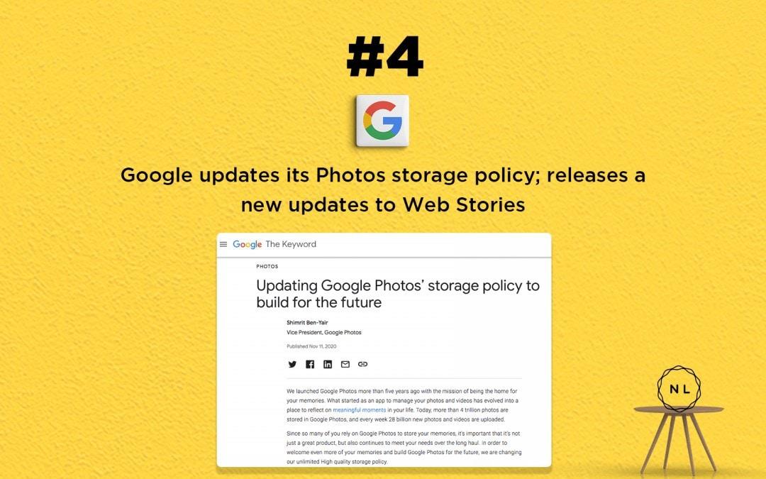 Church Online News: Google updates Photos storage policy