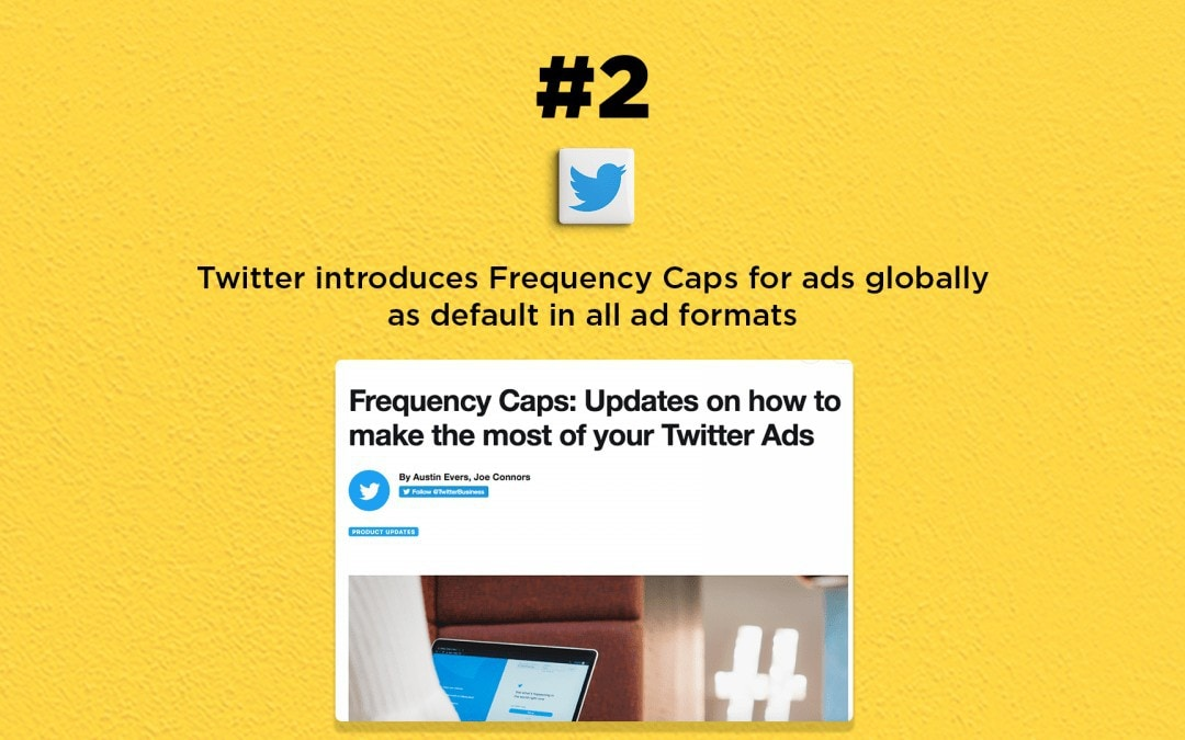 Twitter ads get Frequency Caps option: The Connected Church News