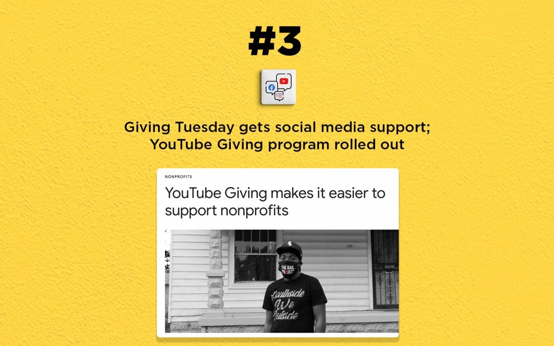 Giving Tuesday gets support from social channels: The Connected Church News
