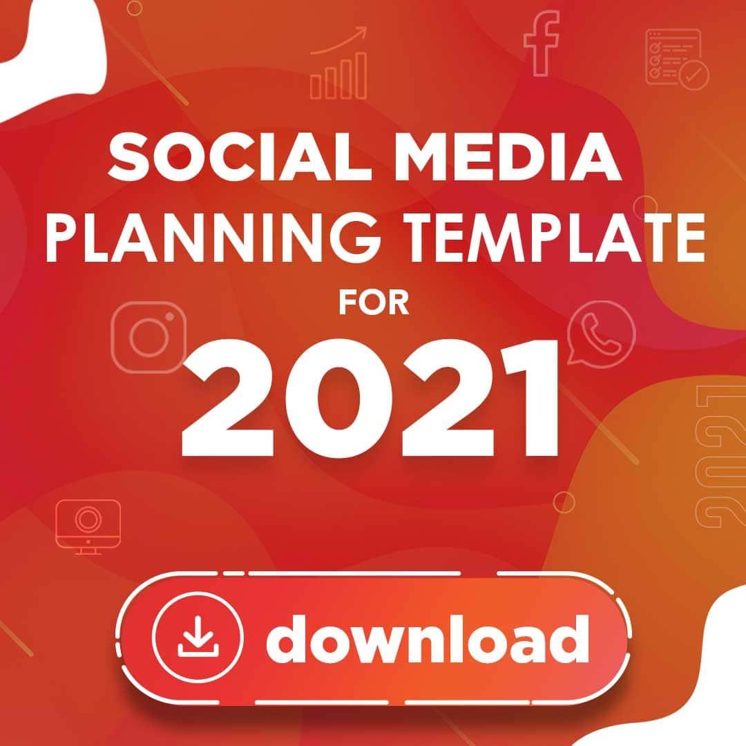 Social Media Planning Template 2021