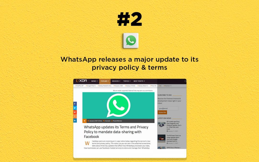 WhatsApp Releases a Major Privacy Update: The Connected Church News