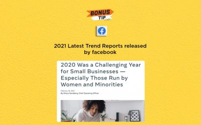2021 Latest Trend Reports released by Facebook: The Connected Church News