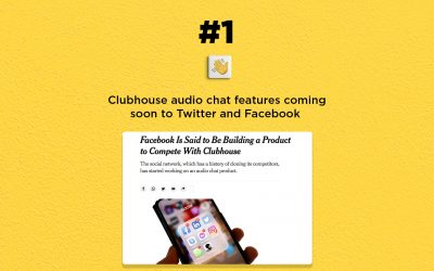 Clubhouse soon to compete with Twitter & Facebook: The Connected Church News