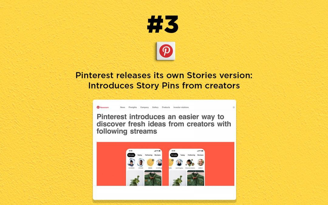 Pinterest releases Story Pins, its own Stories format: The Connected Church News