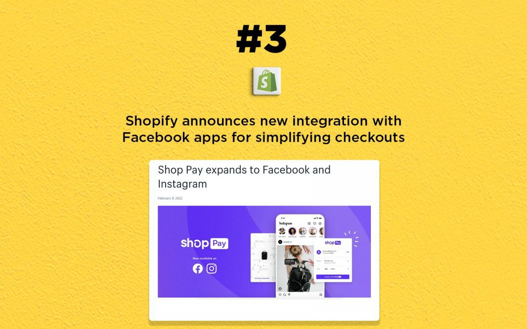 Shopify's Shop Pay to work with Facebook apps: The Connected Church News