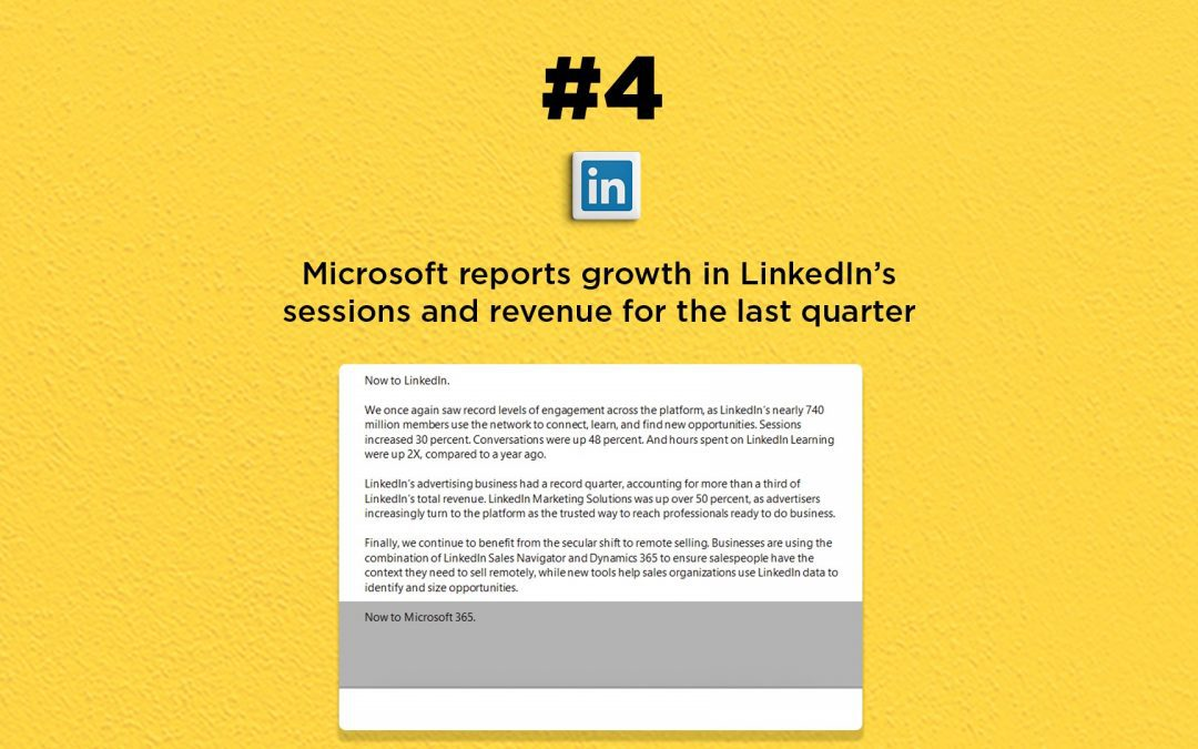 LinkedIn records growth in sessions and revenue: The Connected Church News
